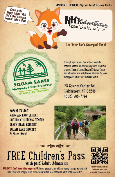 Squam Lakes Booklet Page