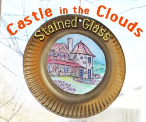 Castle in the Clouds Stained Glass- Final Piece