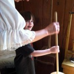 Clark House Museum - Churning Butter